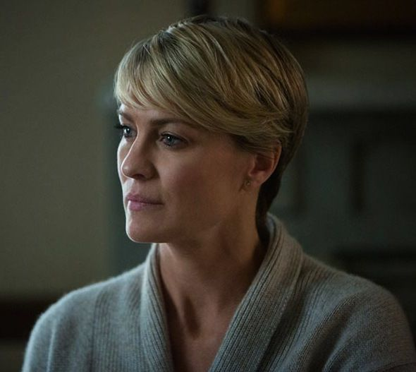 Robin Wright Haircut: 98 Best Images About Robin Wright / Claire Underwood On
