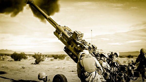 That's a BIG gun! Watch Marines fire an M777 Howitzer. http://warrior.scout.com/story/1490239-watch-marines-fire-an-m777-howitzer?s=155
