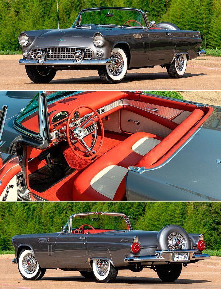 1956 Ford Thunderbird Throttlextreme Com Fordclassiccars