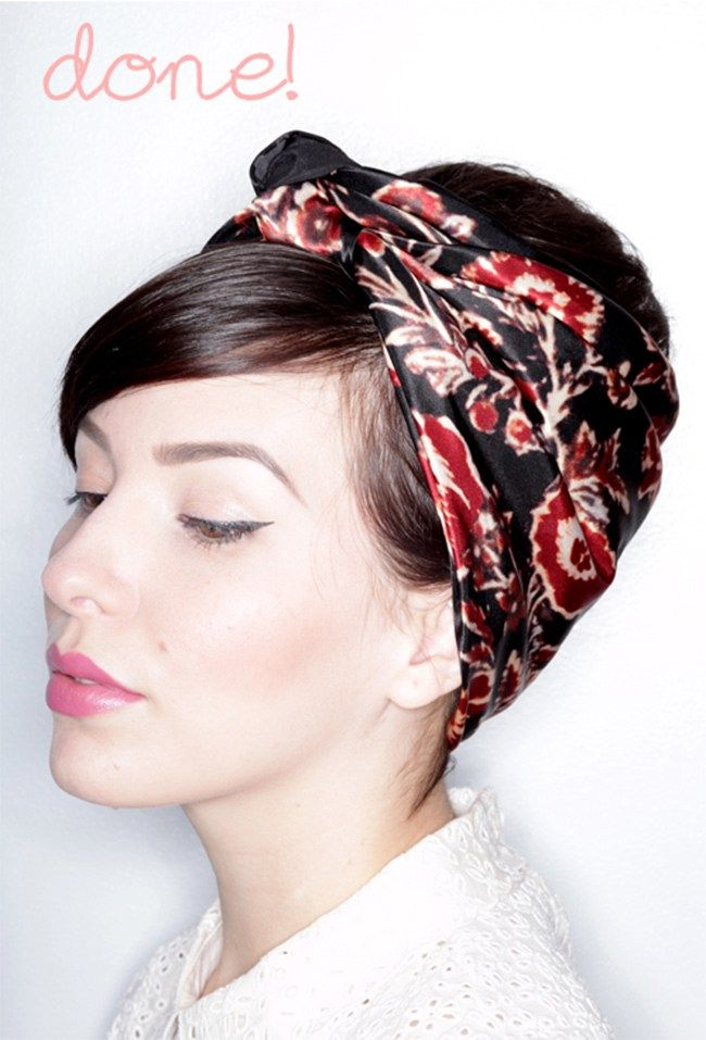 scarf styles for hair 1000 ideas about hair scarves on 9804