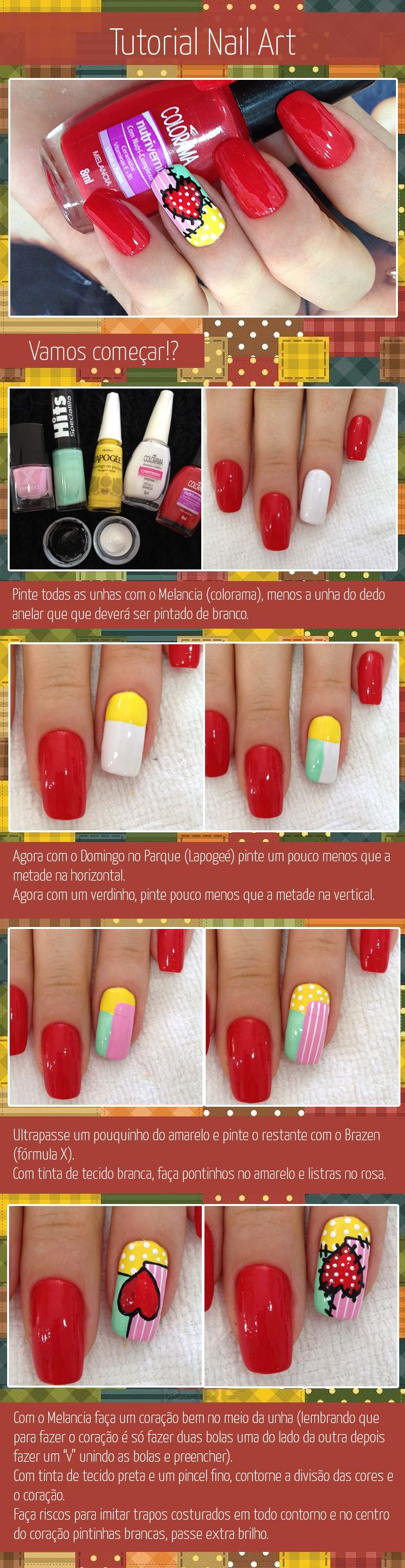 72 best Nail Art images on Pinterest | Tutorial nails, Cute nails ...