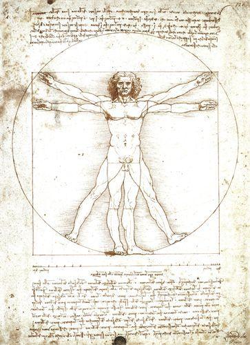 Uomo vitruviano - Leonardo - Opere d'Arte su Tela - Listino prodotti - Digitalpix - Canvas - Art - Artist - Painting