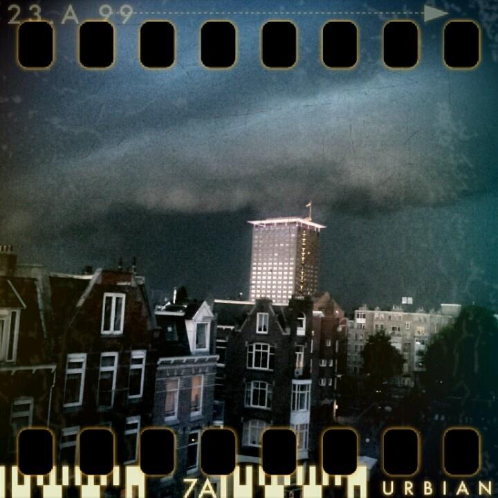 Amsterdam Winter Storm