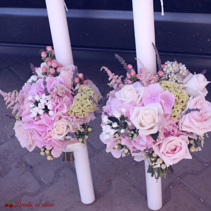 #lumanari #cununie #nunta #pastel #blossom #blush #romantic #wedding #flowers #candles #hypericum #celosia  #trandafiri #bouvardia #hydrangea  #hortensia #flori #paulamoldovan #bucuresti