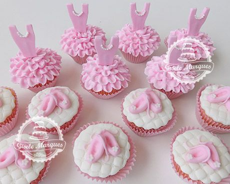 cupcake de bailarina