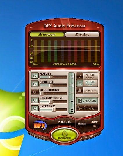 DFX Audio Enhancer merupakan sebuah software yang mampu meningkatkan performa kualitas output suara yang dihasilkan oleh sound komputer atau laptop yang kita miliki sehingga menghasilkan suara yang lebih baik dan lebih hidup