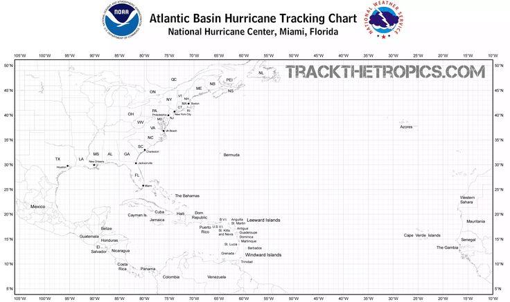 Atlantic Hurricane Season Tracking Chart 2017 - Track The Tropics at Louisiana Hurricane Center