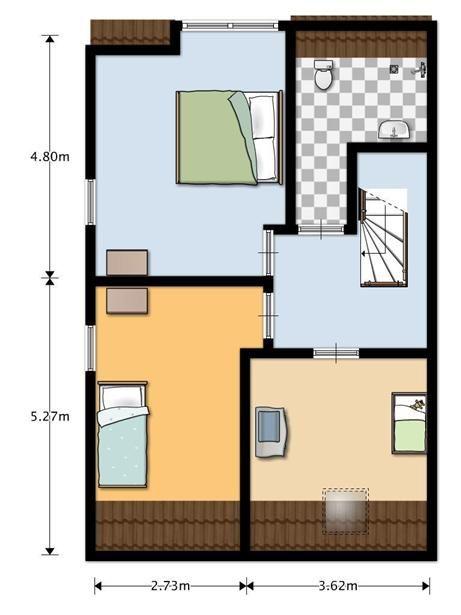 1000 images about indeling zolder on pinterest loft beds amsterdam and radiators - Amenager een voorgerecht van het huis ...