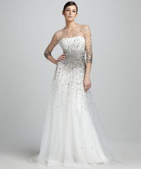 16 Stunning Wedding Frocks For Every S.F. Winter Bride #refinery29  http://www.refinery29.com/39474