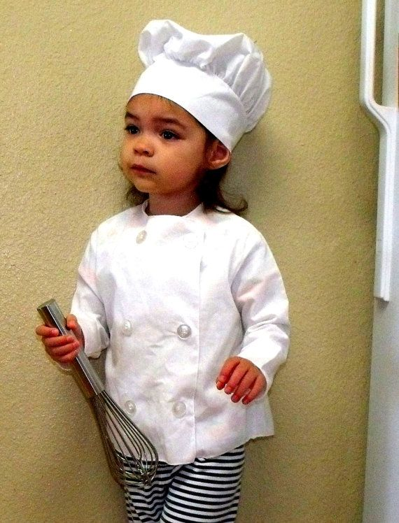 I'm not gonna lie... because I have an insane love of cooking, I will probably force my future kidlettes into dressing up as a chef every single Halloweeen