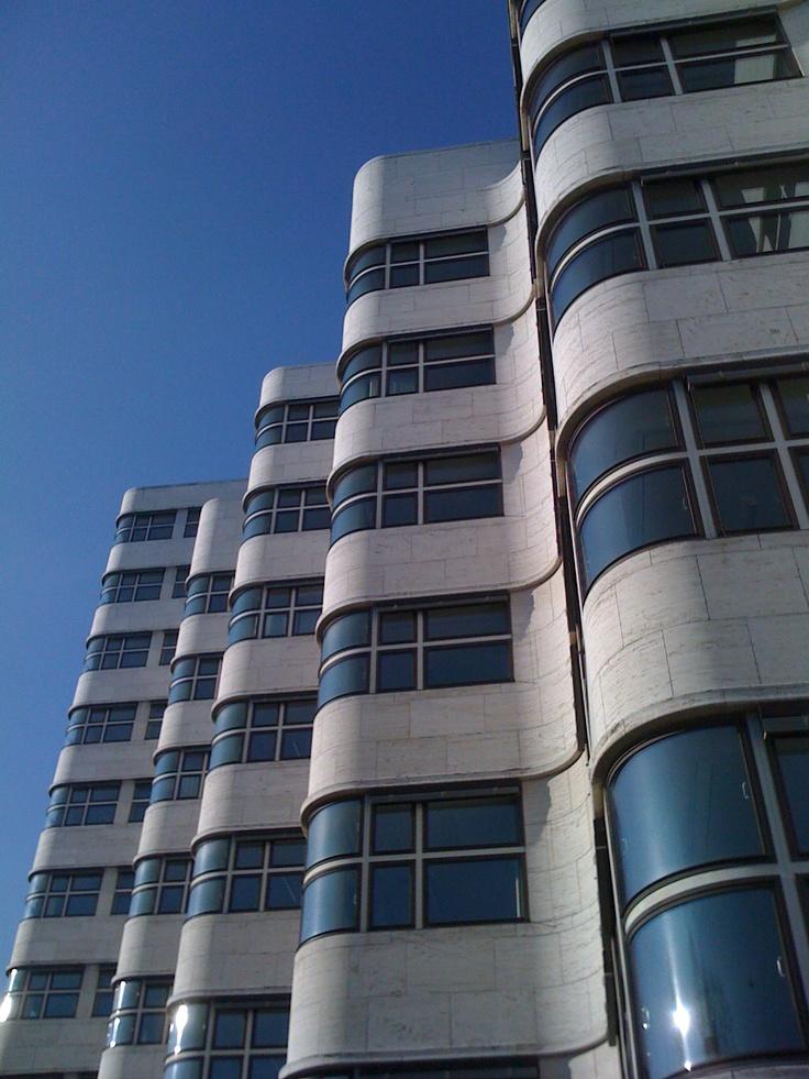 Building near Berlin Bauhaus Archive