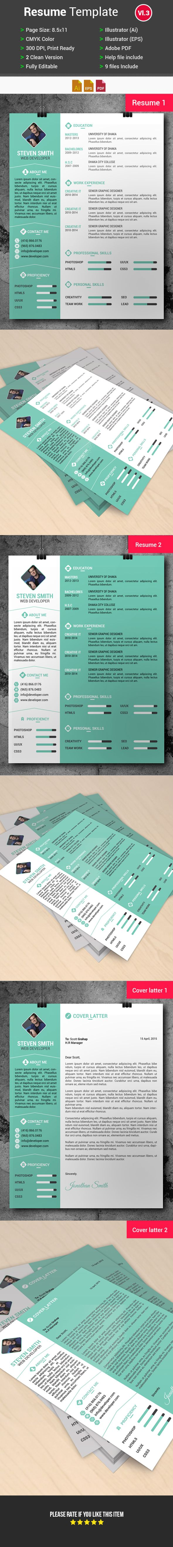 dallas resume service%0A Resume CV Template  Free Download  by Arahimdesign