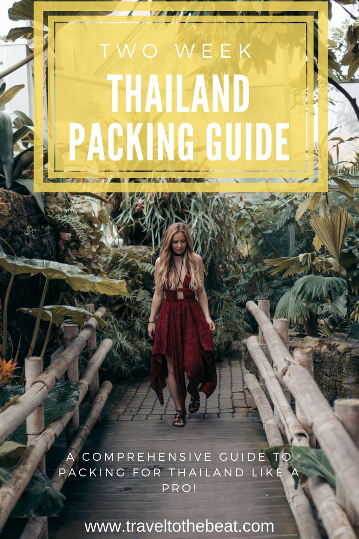 The Ultimate Thailand Packing List