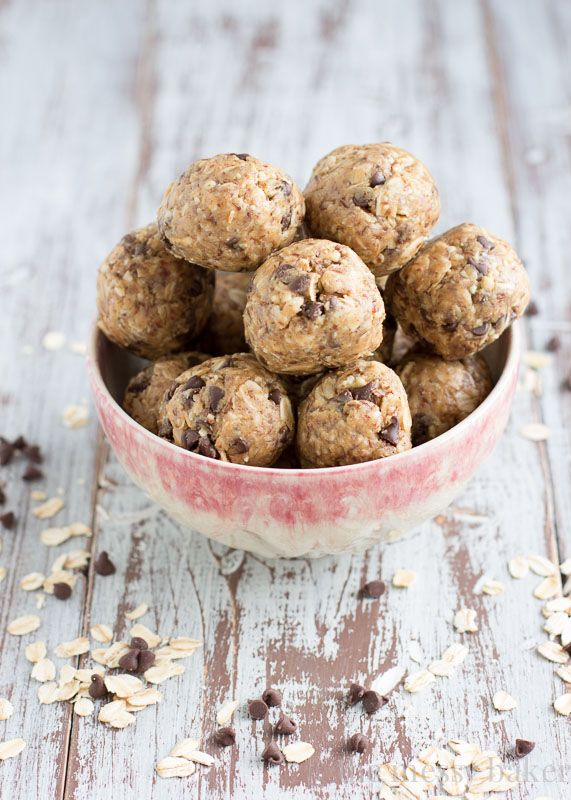 These are oat balls and they are so delicious!