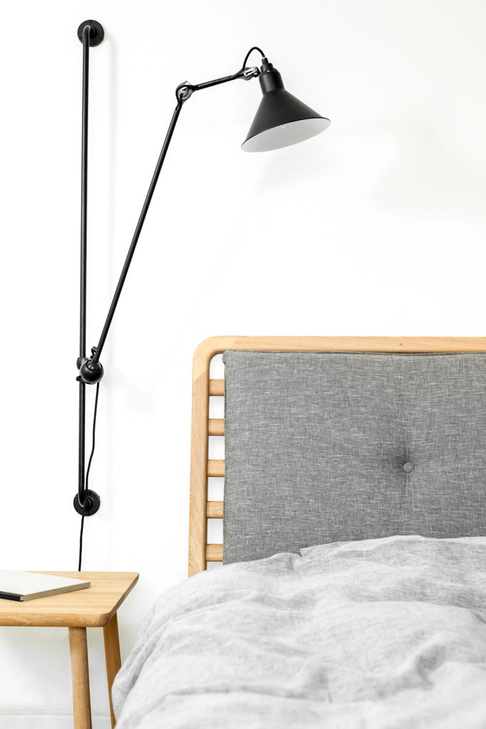 Project of a bedroom with an office - Furniture design - Loft Szczecin