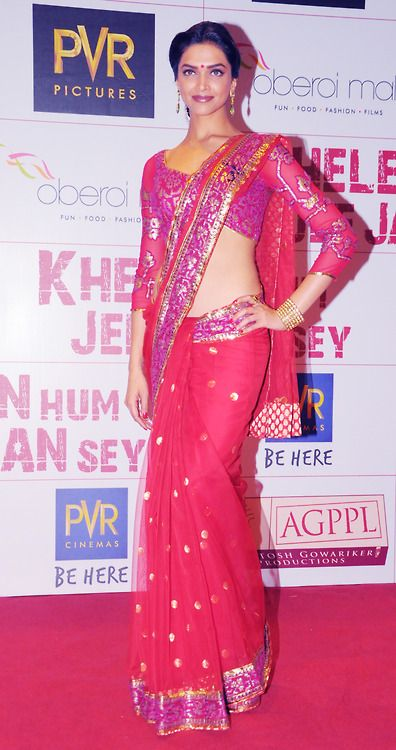 gorgeous pink sari. I want