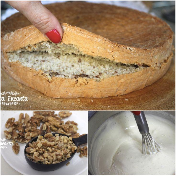 PÃO DE LÓ DE NOZES - FOFÍSSIMO http://www.montaencanta.com.br/bolo-2/pao-de-lo-de-nozes/ Que atire a primeira mão de farinha quem não gosta de bolo fofinho, com massa bem macia! E se ele, além de fofo, ainda tiver sabor de nozes? Aí então é covardia! Receita MARA de hoje! ;) só clicar --- http://www.montaencanta.com.br/bolo-2/pao-de-lo-de-nozes/