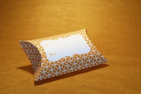 Verpackung für kleine Geschenke
