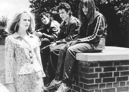 Still of Nicole Kidman, Casey Affleck, Joaquin Phoenix and Alison Folland in To Die For (1995).