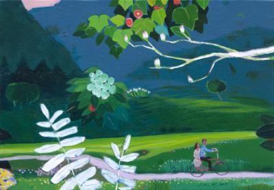garden-my darling/Lee John-lip - ARTMUSEE::KOREAN ARTISTS' ART SHOPPINGMALL