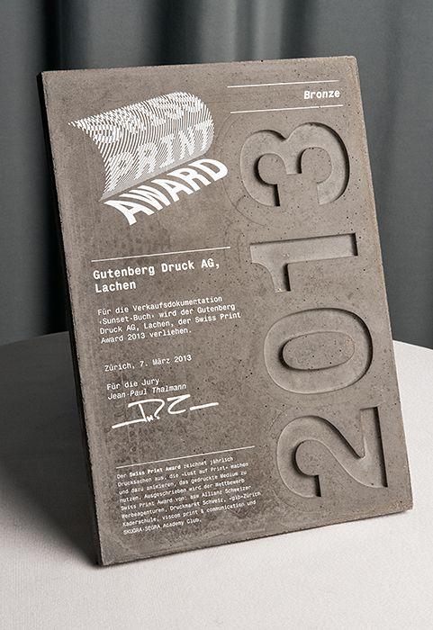 Swiss Print Award - www.xyz.ch