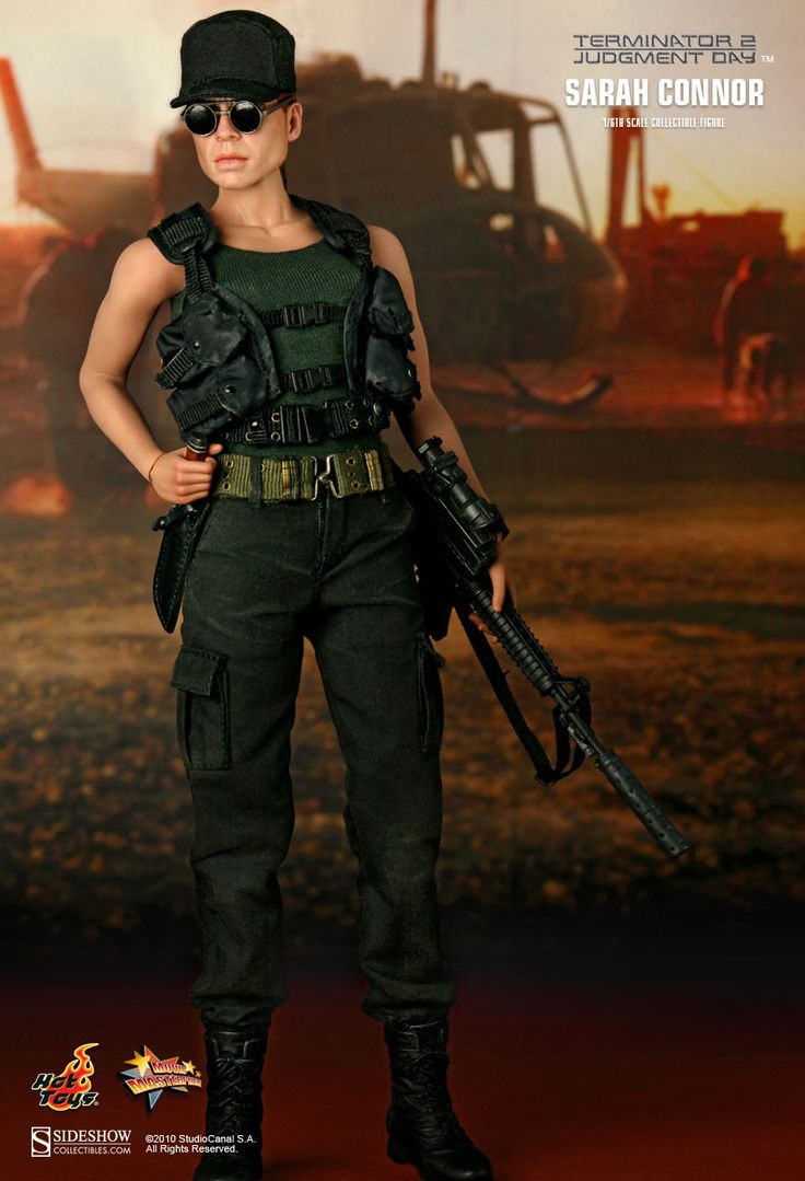 Hot Toys : Terminator 2: Judgment Day - Linda Hamilton as Sarah Connor 1/6th scale Collectible Figure