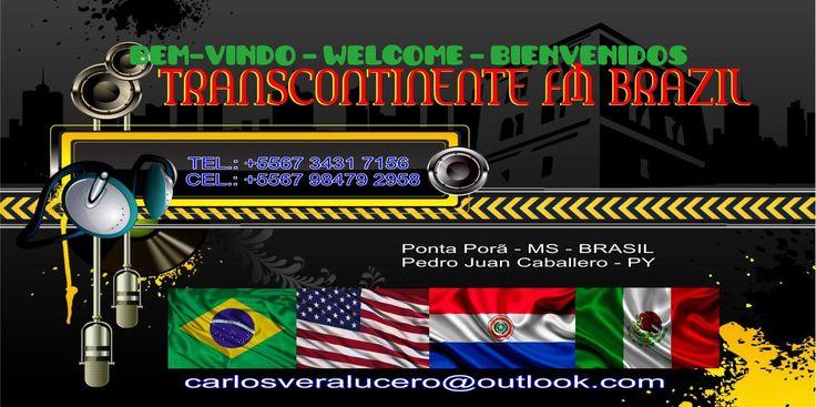 Locutor AS MELHORES DO DIA - TRANSCONTINENTE FM BRAZIL by Carlos Vera Lucero