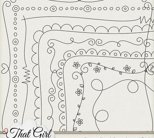 Diy Home Design Ideas Com: Easy To Draw Border Designs
