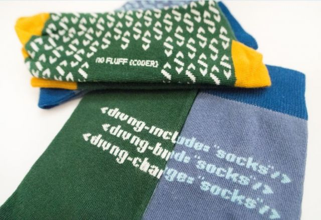 Programmer Socks. Perfect as a gift or to your own wardrobe. Available now at our on-line store with other Unique products for whole IT Family.