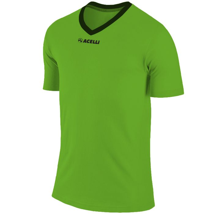 electric lime green soccer top