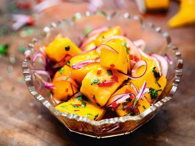 Ceviche de Mango (Mango Ceviche) From Ceviche: Peruvian Kitchen   Serious Eats : Recipes