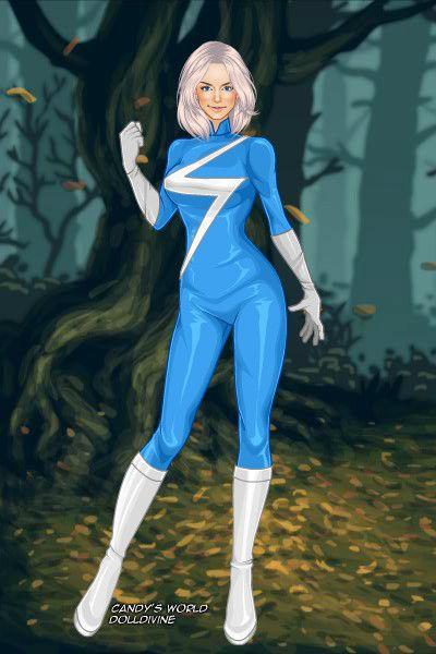 Lady Quicksilver by Superwholock ~ Marvel X-Men Dress Up ... X Men Girls Dress Up