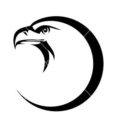 Eagle symbol vector 1723916 - by Reinekke on VectorStock®
