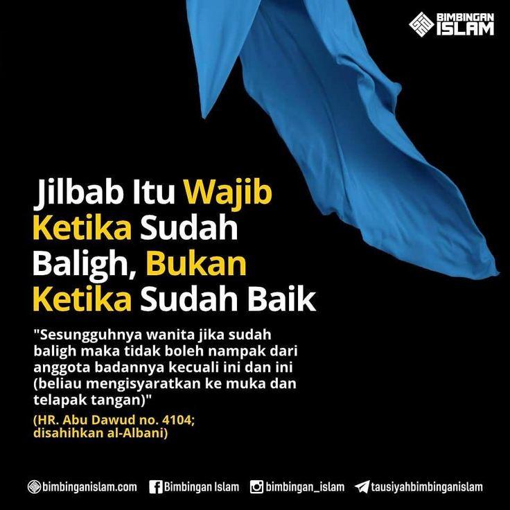 http://nasihatsahabat.com #nasihatsahabat #mutiarasunnah #motivasiIslami #petuahulama #hadist #hadits #nasihatulama #fatwaulama #akhlak #akhlaq #sunnah  #aqidah #akidah #salafiyah #Muslimah #adabIslami #DakwahSalaf # #ManhajSalaf #Alhaq #Kajiansalaf  #dakwahsunnah #Islam #Jilbab #hijab #kerudung #hukumnya #WajibKetikaSudahBaligh #Bukan #ketikasudahbaik #syariathijab #mukadantelapaktangan