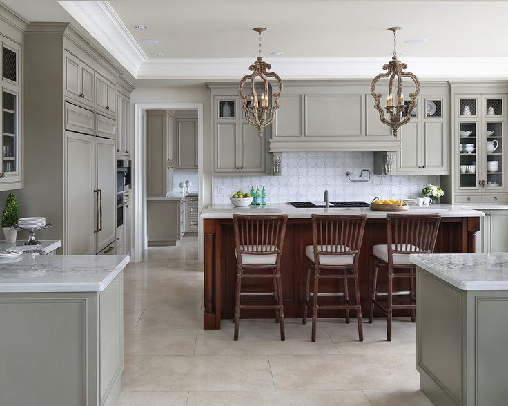 Best 165 Best Gray Off White Kitchen Cabinets Images On 640 x 480
