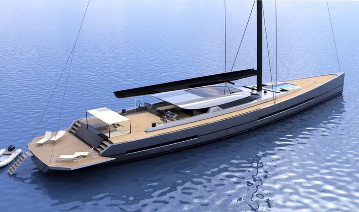 New 42m sailing yacht concept by FG Yacht Design | SuperYacht Times