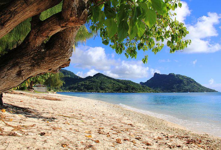 "Wandkalender ""Französisch-Polynesien - Trauminseln im Südpazifik"", Kalenderblatt Februar: Huahine"