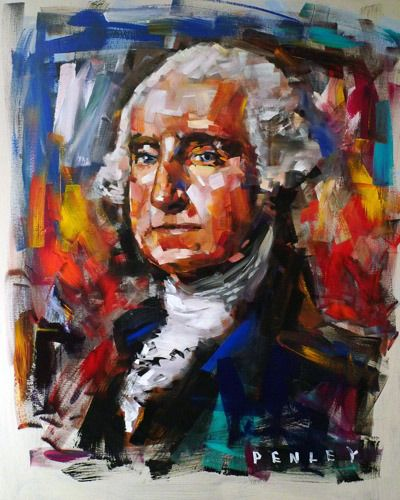 George Washington Steve Penley Red Clay Soul