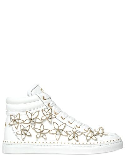 DSQUARED - SNEAKERS IN PELLE 20MM - LUISAVIAROMA - LUXURY SHOPPING WORLDWIDE SHIPPING - FLORENCE