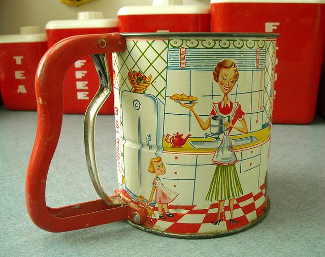 """Vintage ANDROCK """"Hand-I-Sift"""" Flour Sifter* by ilovehesby, via Flickr"""