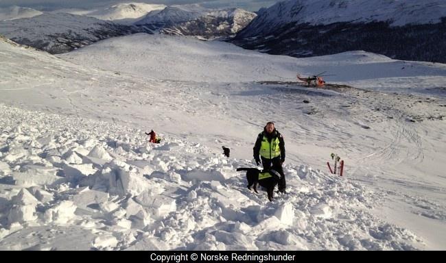Snøskred i Hemsedal 2012
