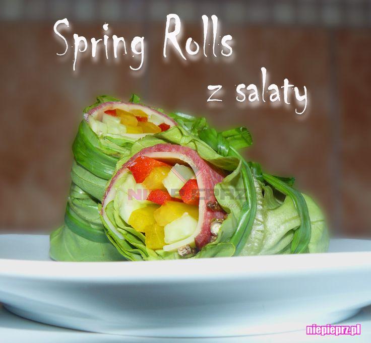 Spring Rolls z sałaty
