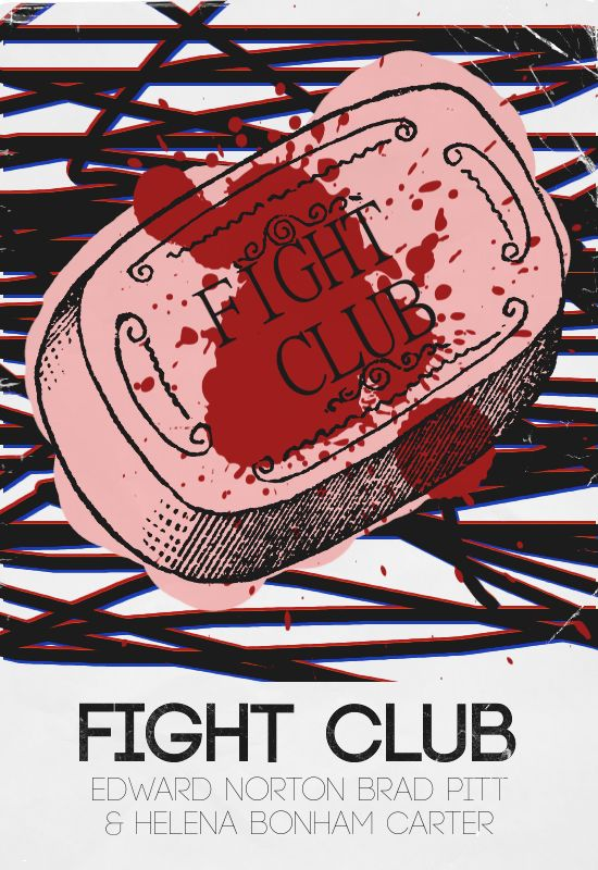 FIGHT CLUB  by borsukart
