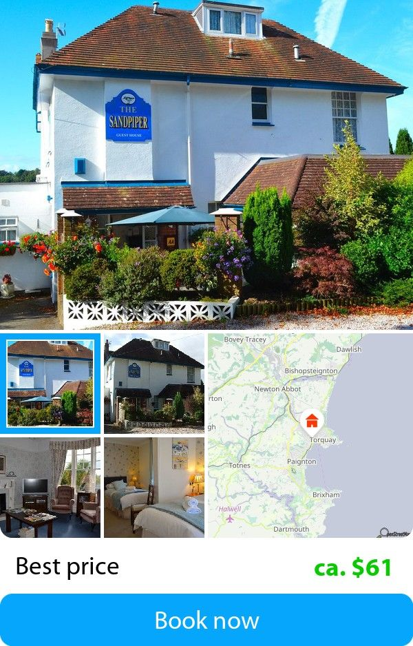 The Sandpiper Guest House (Torquay, United Kingdom) – Book this hotel at the cheapest price on sefibo.