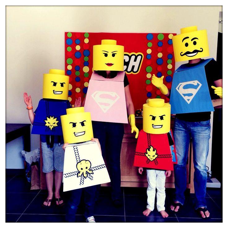 Les 25 meilleures id es de la cat gorie costume de lego - Deguisement minion fait maison ...