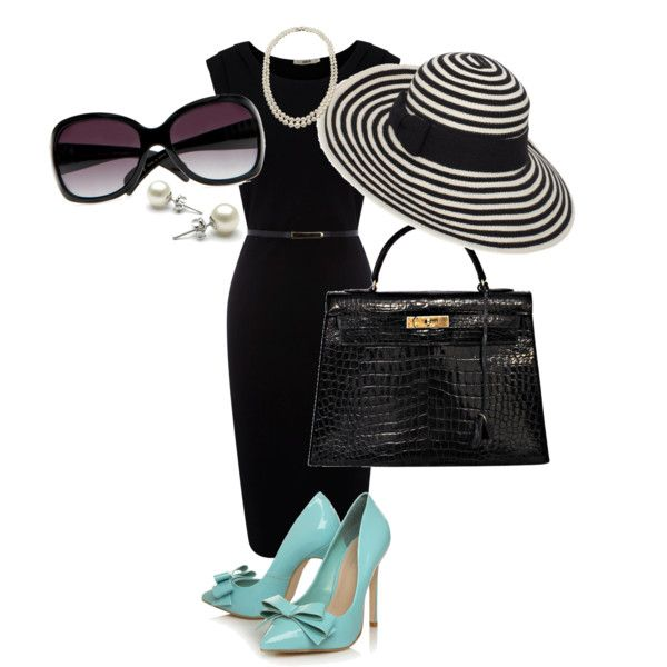 Audrey Inspiration, created by lfmackinnon on Polyvore: Clothing Shoes Bags, Tiffany Blue Shoes, Style, Breakfast At Tiffany'S, Breakfast At Tiffanys, Audrey Hepburn, Audrey Inspiration, The Dresses, Blue Pumps