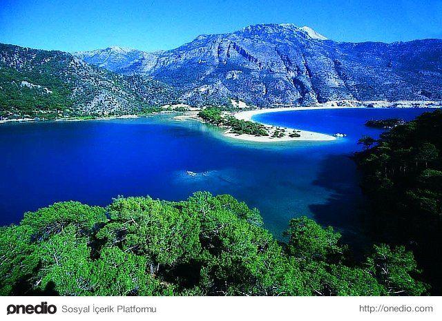 Fethiye- Ölüdeniz Fethiye`nin öüdeniz beldesinde bulunan bu yer tam bir cenneti andırır...