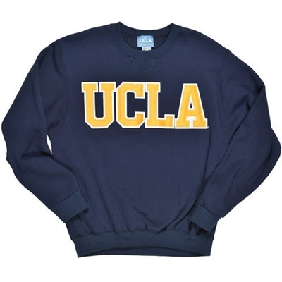 UCLA Classic Crewneck Sweatshirt - Blue 50/50 cotton/polyester 9oz ...