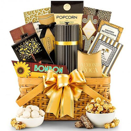 As Good As Gold Gourmet Gift Basket | Housewarming Gifts For Family | New  Home Gifts
