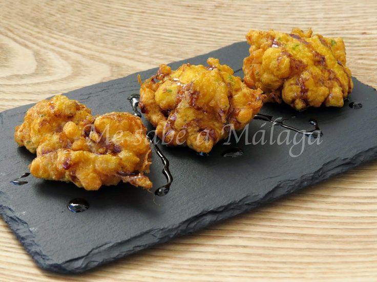Me sabe a Málaga: Tortillitas de bacalao con miel